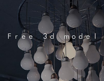 Free 3d model - Bicycle light