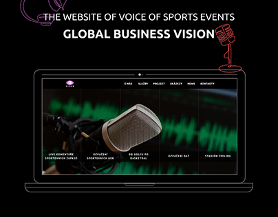 Redesign of the Global Business Vision website