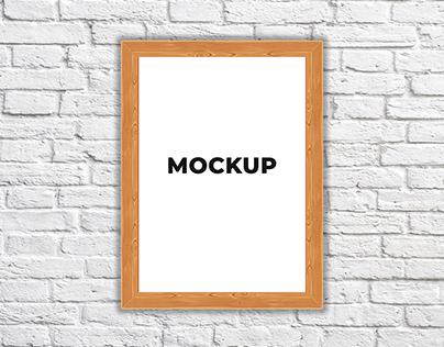 Free Photo Frame Mockup Download