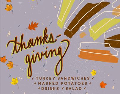 Thanksgiving Event Invite