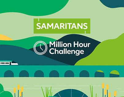 Samaritans / Network Rail: Million Hour Challenge