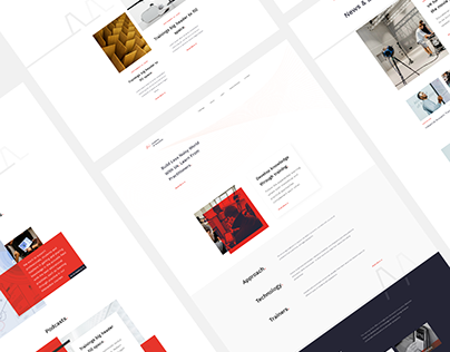 Academy of Acoustics - Website Design