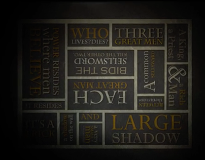 Game of Throne Motion Graphics Dynamic Typography