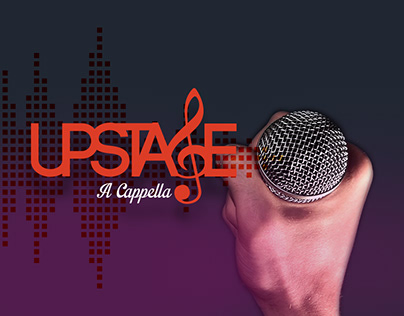 Upstage A Cappella - Logo Design / Poster Design