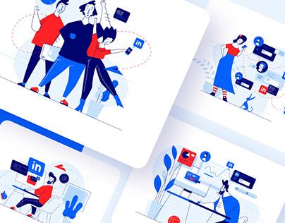Meetfelix.com illustrations set