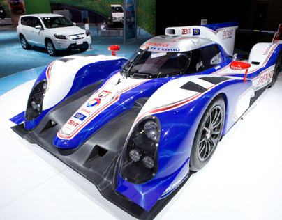 Toyota at the Los Angeles Auto Show