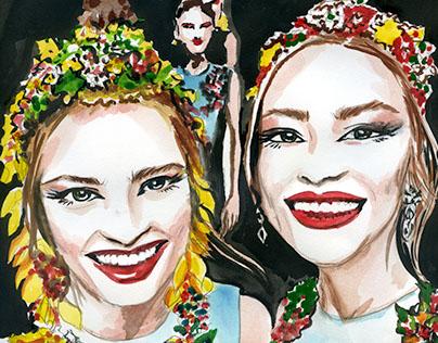 Fashion week Illustrations