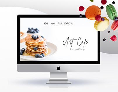 Food restaurant - Landing Page