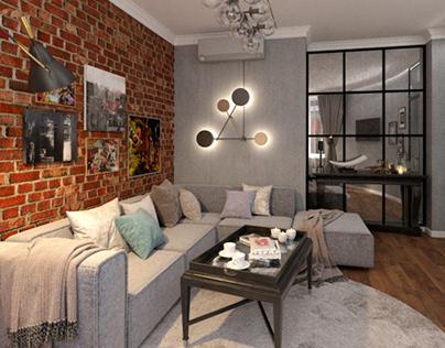 Apartment 110m Yekaterinburg 2017