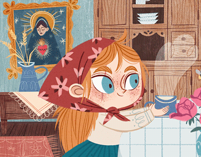 YLENIA - book illustration