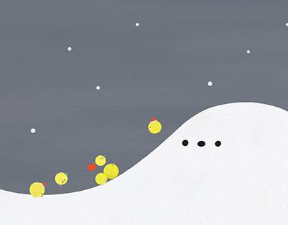 imagine & chicks : let it snow