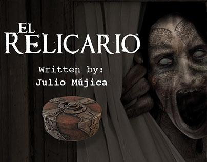 """CONCEPT ART - """"El Relicario"""" Film Script"""
