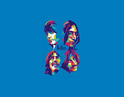 The Beatles In WPAP by Rizkimau