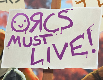 """Orcs Must Live"" marketing campaign for Orcs Must Die!"