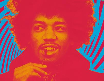 Jimi Hendrix - Poster