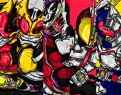 [Heisei era]Kamen Rider PART 1
