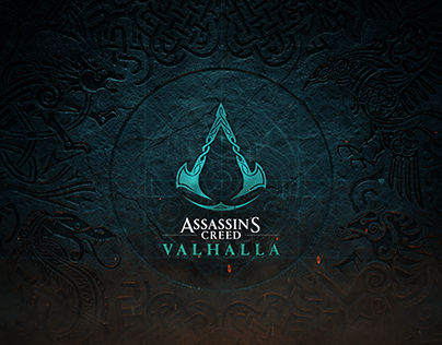 Assassin's Creed Valhalla Logo Animation