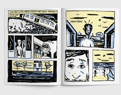 UM PASSEIO NOTURNO, Graphic Novel