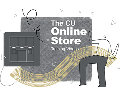 The CU Online Store GIFs & Styleframes