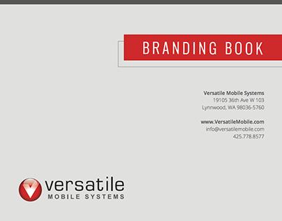 Versatile Mobile Systems Branding Book