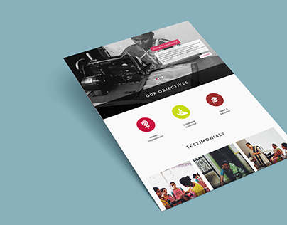 Ishanya Foundation : Website Design