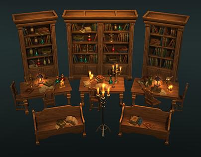 Fantasy game props