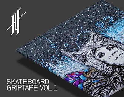 Illustration: Skateboard Grip Tape Vol.1