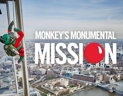 Monkey's Monumental Mission - PG Tips