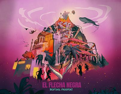 El Flecha Negra Album Cover