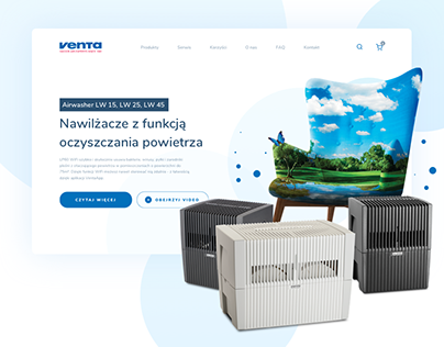 Venta Airwasher - Website & E-commerce