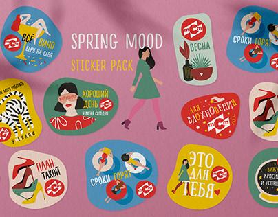 Sticker pack   Spring mood