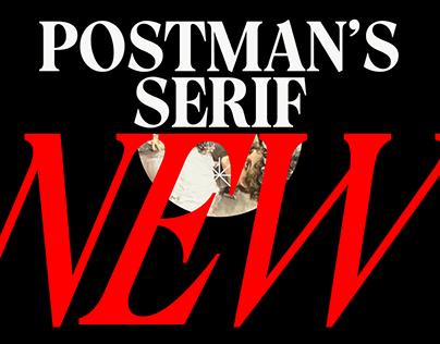 Postman's Serif - Free Typeface © Designstripe