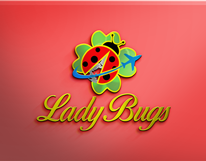 Lady Bugs Logo Design
