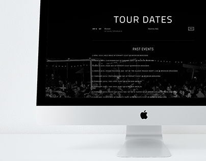 """Dj Lappa"" Re-styling website"