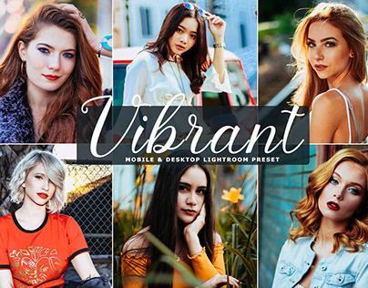 Free Vibrant Mobile & Desktop Lightroom Preset