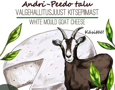 Package illustrations for Andri-Peedo Talu.