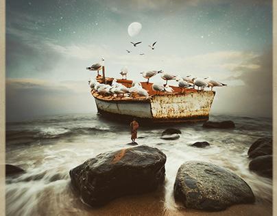 Surreal sea scapes