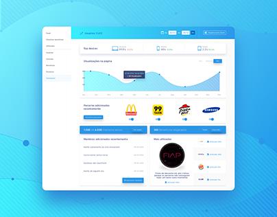 UI / UX - Dashboard