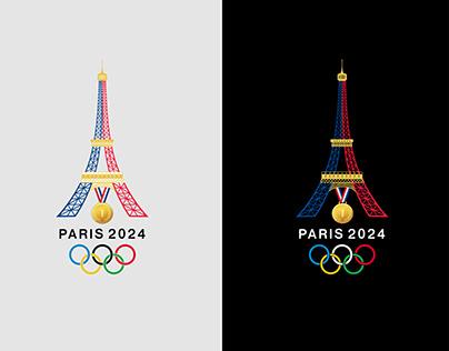 Paris2024 Olympic Games Logo Concept