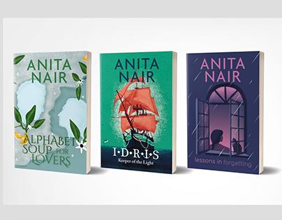 Anita Nair Book Covers