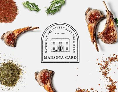 Branding for Madsøya Gård (Farm)