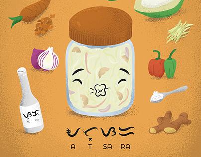 Atsara ingredients & baybayin