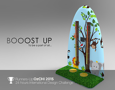 Boost Up | Interactive Installation