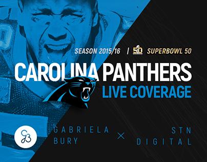 Carolina Panthers LIVE Coverage 2015/2016