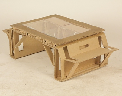 Flat Sheet Furniture - Lazy Table
