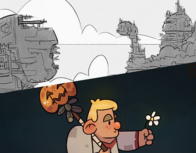 Backgrounds & Characters