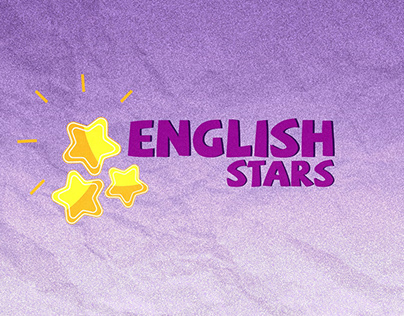 Vinheta English Stars