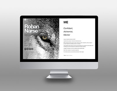 ROHAN NARSE Strategy and Web Design