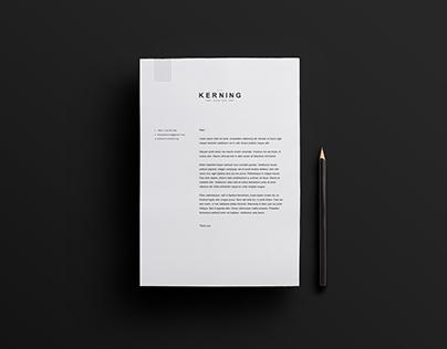 Kerning Design branding