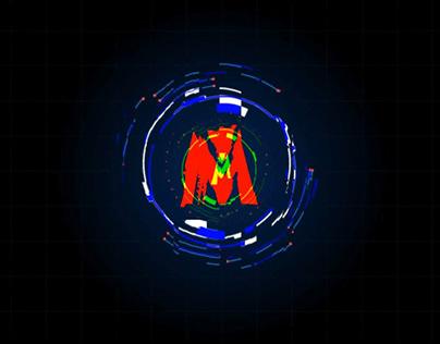 Modern HUD Glitch logo Animation - AE template